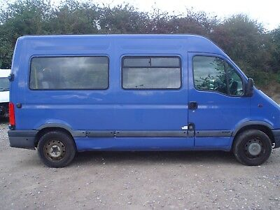 2002 Renault Master(Movano) Mm33 2.2 Dci  Wheel Chair Accessible, Price Plus Vat