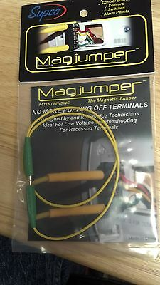 "JUMPER WIRE MAGNETIC, GREEN, ""Magjumper"", NO MORE POPPING OFF TERMINALS, 19"""