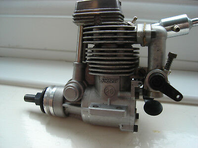 Vintage Os 26 4Stroke Model Aircraft Glow Engine For R/c