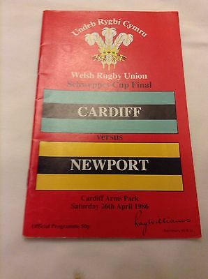 rugby union programme