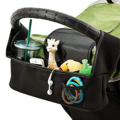 Baby Jogger Parent Console Multi Fit Attach Handlebars Large Storage Compartment