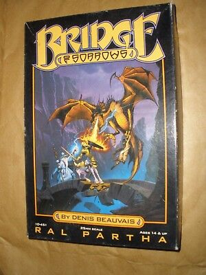Ral Partha 10-451 Bridge of Sorrows complete metal miniature set OOP