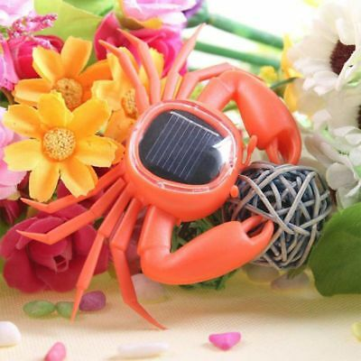 ABS Novelty Solar Power Toy Kids Educational Toy Trick Playing Toy Crab Shaped