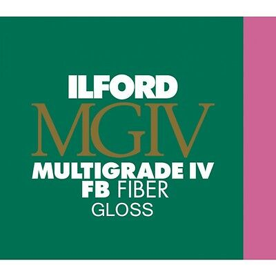 "Ilford Multigrade FB IV VC Black & White Glossy Paper 11x14"" 50 Sheets (1833571)"