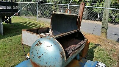 Bbq Grill Pit Smoker Trailer