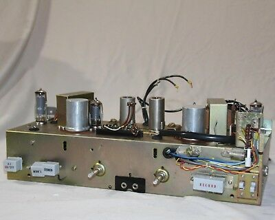Sony Stereo Single Ended Tube Amplfier (Tape Amp) (6AQ5,12AX7/12AD7,6AU6)