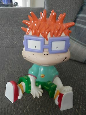 Rugrats Chuckie Money Box 1999 GC. COLLECTABLE.