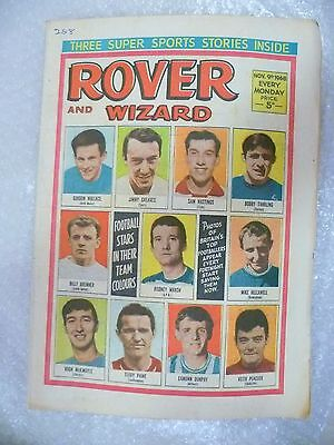 Comic- Rover and Wizard 9th November 1968