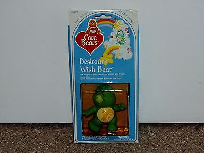 1983 Kenner Care Bears Poseable Wish Bear MIB Brand New Canadian Variant