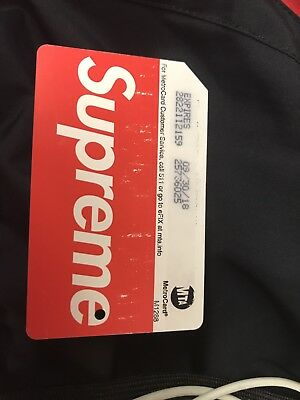 Supreme Metro Card Mta Red Box Logo Does Not Scan Used