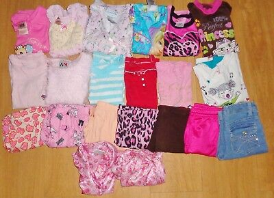 Lot of Girls ( size 4/5 and 5 T) Clothing Mixed items , 21 pieces