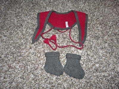 "American Girl 18"" Addy Heartwarmer And Slippers"
