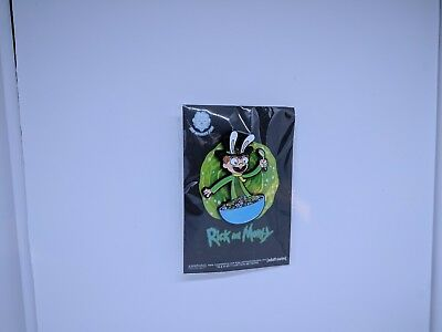 2017 NYCC Exclusive Rick And Morty Top Hat Jones Strawberry Smiggles Enamel Pin