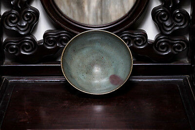 Yuan or Ming Style Chinese Antique Large Junyao Bowl ETR104