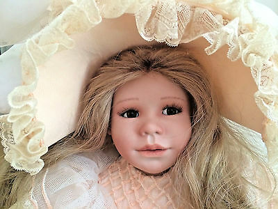 Vlasta-Pat Thompson-Julie Porcelain Doll   #8/10 With Stand