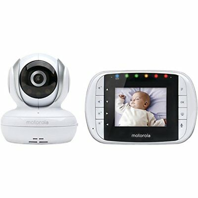 Wireless Audio Video Baby Monitor Security Camera with Night Vision 2 Way Talk