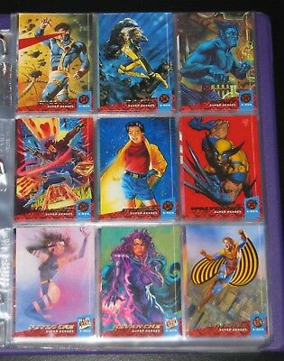 1994 Fleer Ultra X-Men Base Set of 150 Cards NM/M, Marvel RARE!!