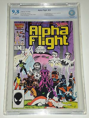 Alpha Flight 33 (04/85) CBCS Graded 9.8 (Similar to CGC) First Lady Deathstrike