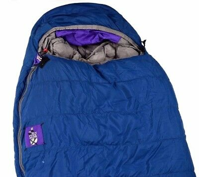 The North Face Mummy Thermal Insulated Heatseeker Camping Sleeping Bag Blue