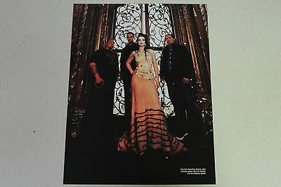 EVANESCENCE Full Page Pinup magazine clipping group shot AMY LEE