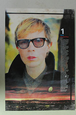 BECK Full Page Pinup magazine clipping with album review