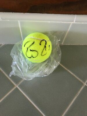 Roger Federer Autographed Signed Tennis Ball with COA