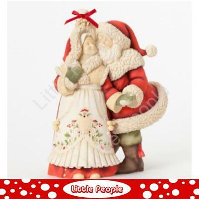 Collectable Jim Shore Mr & Mrs Claus Figurine