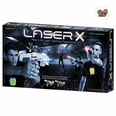Laser X Two Player Laser Gaming System