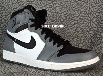0f82b6a4888 Nike Air Jordan 1 Retro High 332550-024 Cool Grey Black White Mens DS NEW
