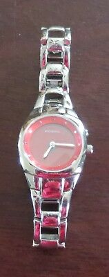 FOSSIL Women's Watch RED face ES-9672