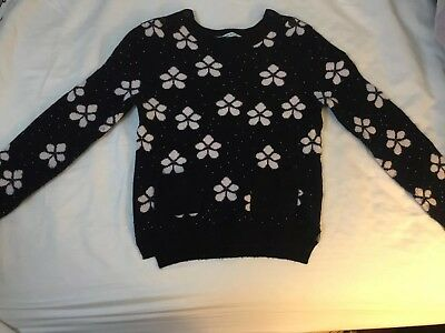 Country Road Unisex Jumper Navy Blue Snow Flake 06 Cute RRP $89.95