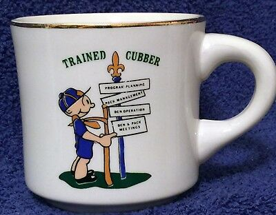BSA Mug Cub Scout - TRAINED CUBBER -