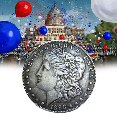 USA Morgan Dollar $1 1888 Coin Collection Double Headed MS-63+ Currency W