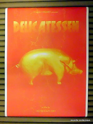 Claudie Ossard Presents DELICATESSEN UK Promo Poster [1991] Vintage Official NEW