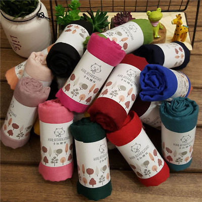 Sold Color Winter Warm Cotton and Llinen Boys Girls Kids Soft Collar-Neck Scarf