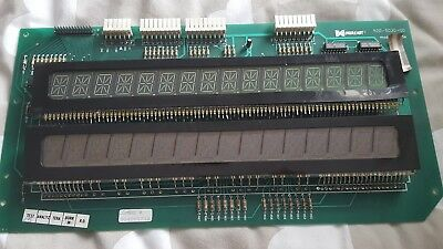 Data East Pinball dual 16 digit display board, not working
