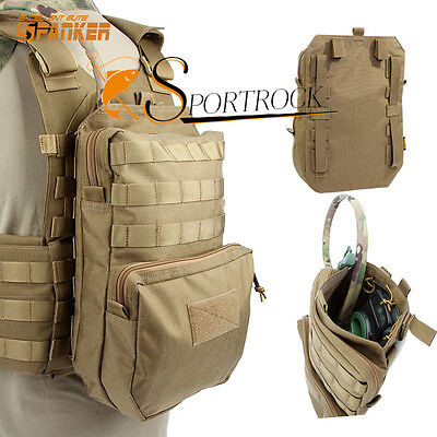 Spanker Outdoor MOLLE Tactical Hydration Pack 3L Water Pack For Vest Backpack