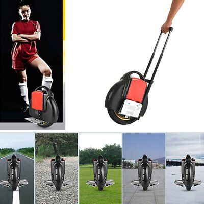 Portable Electric Scooter Unicycle Bluetooth Music 14 inch Contraction Rod V