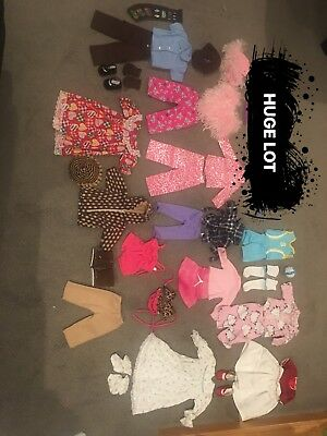 "HUGE LOT of 18"" Clothes for American Girl Dolls"