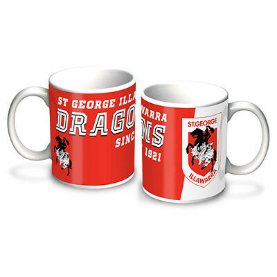 NRL St George Illawarra Dragons Logo Coffee Mug
