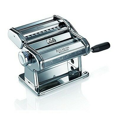 Pasta Making Machine Stainless Steel Hand Crank Noodle Roller Italian Cooking