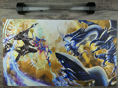 The Dark Side of Dimensions YuGiOh TCG Custom Playmat Free High Quality Tube Mat