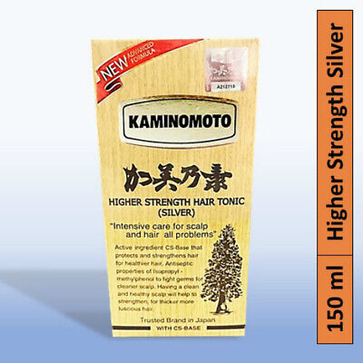 Kaminomoto Japan Hair Growth Tonic w Hinoki Extract Natural Anti Hair Loss 150ML