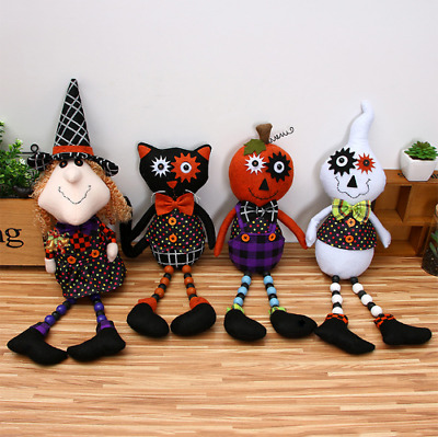 Nightmare Before Christmas Witch Black Cat Pumpkin Ghost Halloween Xmas Toy Doll