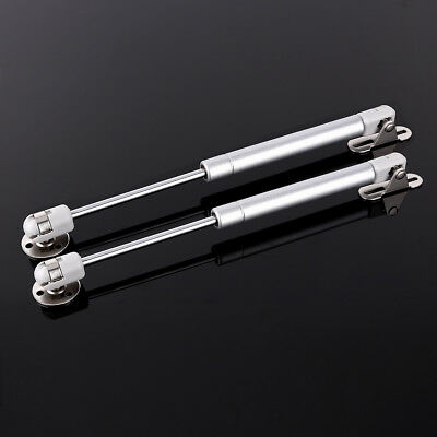 2 x Lift Hydraulic Gas Strut Lid Support Kitchen Cabinet Door Hinge Open Close
