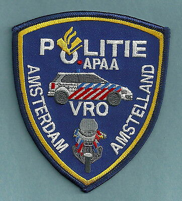 Amsterdam (Amstelland) Netherlands Police Politie Patch
