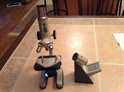 Koch Microscope And Paterson Micro Focus Finder No Reserve