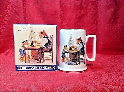 Norman Rockwell For a Good Boy Porcelain Tankard