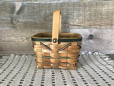Small Decorative Basket with Handle Vintage