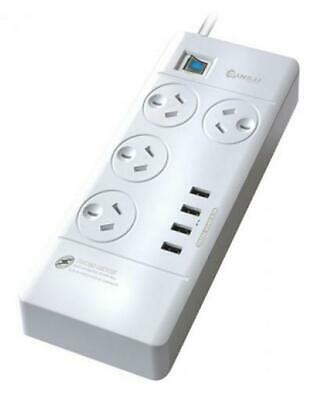 4-Way Surge Protected USB Power Board